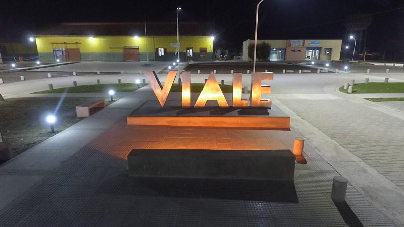 Paseo Ferroviario de Viale , una puesta en valor en todo sentido |  Micrófono Digital